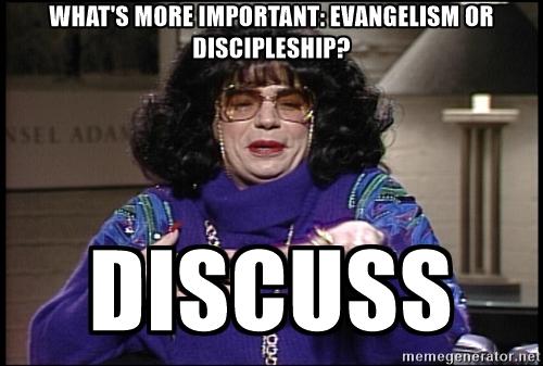 Should we major inevangelism?