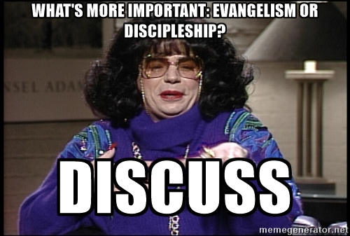 Should we major in evangelism?